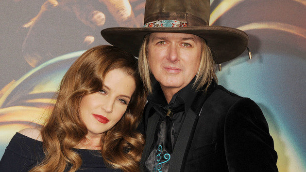 Lisa Marie Presley und Ehemann Michael Lockwood (Bild: Viennareport)