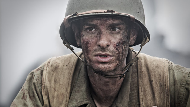 "Andrew Garfield in ""Hacksaw Ridge"" (Bild: AP)"