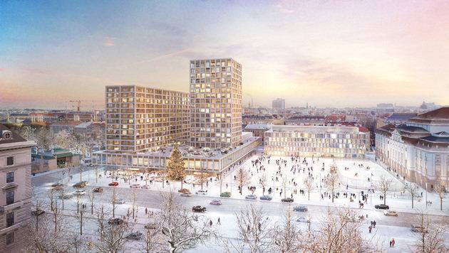 Heumarkt Neu: Das sind die Vorteile des Projekts (Bild: Isay Weinfeld und Sebastian Murr)