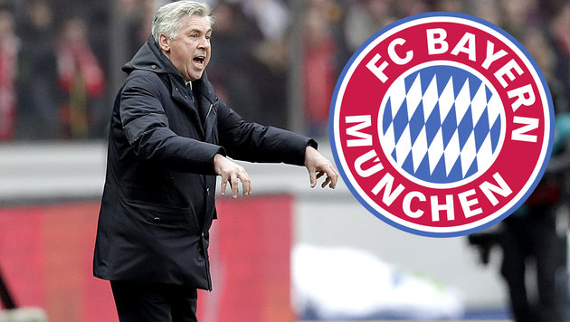 Stinkefinger-Alarm! Bayerns Ancelotti rastet aus (Bild: Associated Press)