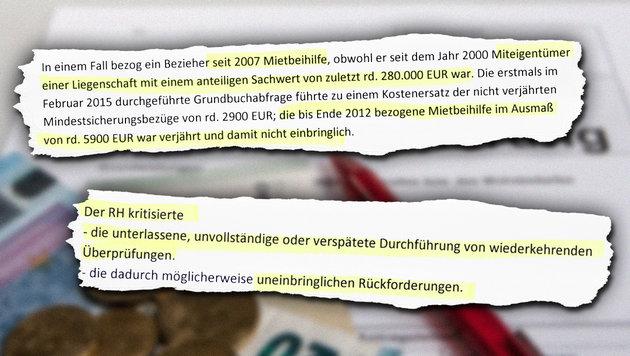 Die 5 schwersten Fehler im rot-grünen Sozialsystem (Bild: Roland Mühlanger)