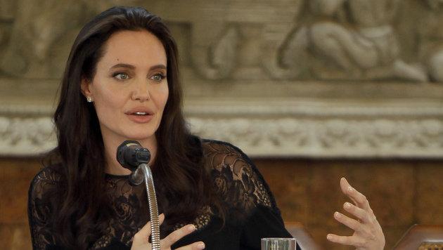 Angelina Jolie bei der Pressekonferenz zu ihrem neuen Film (Bild: ASSOCIATED PRESS)
