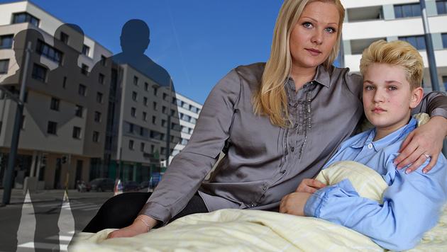 William (11) wurde attackiert und musste das Wochenende im Spital verbringen. (Bild: Gerhard Bartel, thinkstockphotos.de, Martin A. Jöchl)