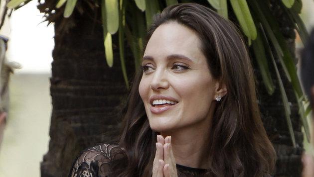 Schön wie eh und je: Angelina Jolie (Bild: ASSOCIATED PRESS)