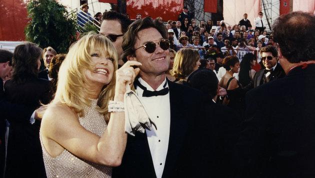 Goldie Hawn und Lebensgefährte Kurt Russell (Bild: Hollywood Picture Press/face to)