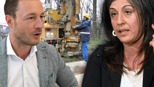 ÖVP-Wien-Chef Blümel kritisiert Vassilakou. (Bild: MARTIN A JÖCHL, APA/HELMUT FOHRINGER, APA/ROLAND SCHLAGER)