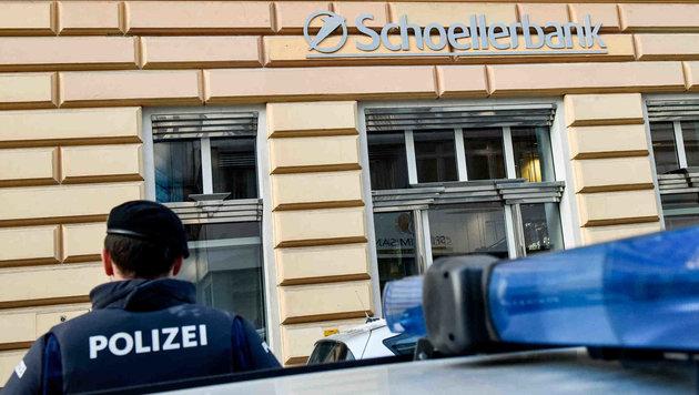 Am 19. Jänner überfiel der Unbekannte die Schoellerbank in der Linzer Schillerstraße. (Bild: Markus Wenzel)