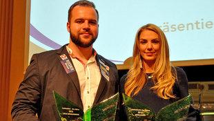 Weißhaidinger/Dadic als Athleten des Jahres geehrt (Bild: Olaf Brockmann)