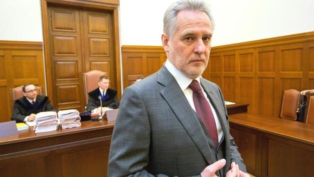 Dmytro Firtasch bei seiner Berufungsverhandlung am OLG Wien (Bild: PHOTONEWS.AT/GEORGES SCHNEIDER)