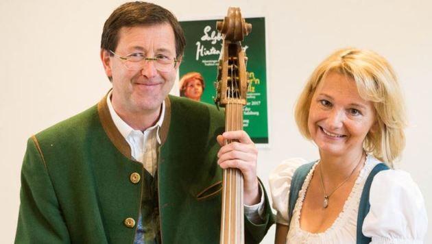 Josef Radauer mit seiner Ehefrau Elisabeth (Bild: Neumayr)