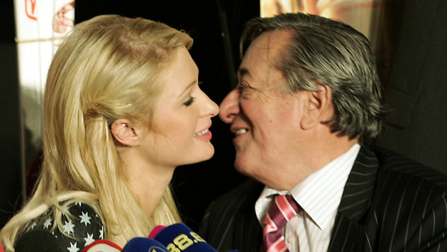It-Girl Paris Hilton war Lugners größter Coup. (Bild: AP)