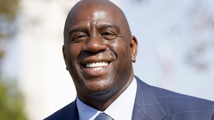 Magic Johnson wird Präsident bei L.A. Lakers (Bild: Associated Press)