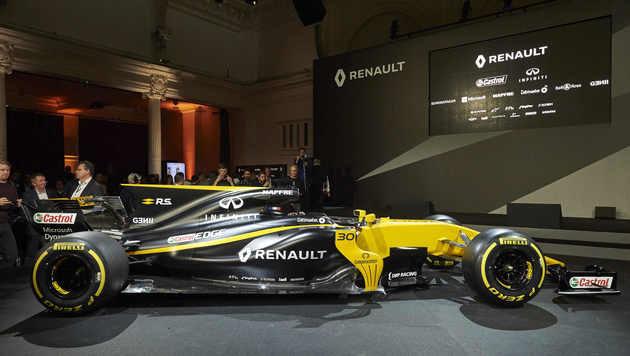 Renault stellt neuen Formel-1-Boliden vor! (Bild: AFP)
