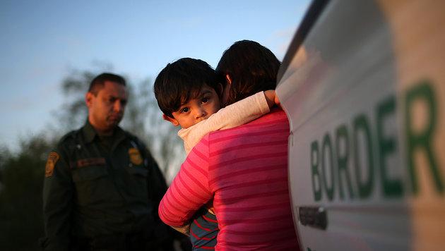 Illegal eingewanderte Kinder sollen weiterhin einem gesetzlichen Schutz unterliegen. (Bild: AFP/GETTY IMAGES)