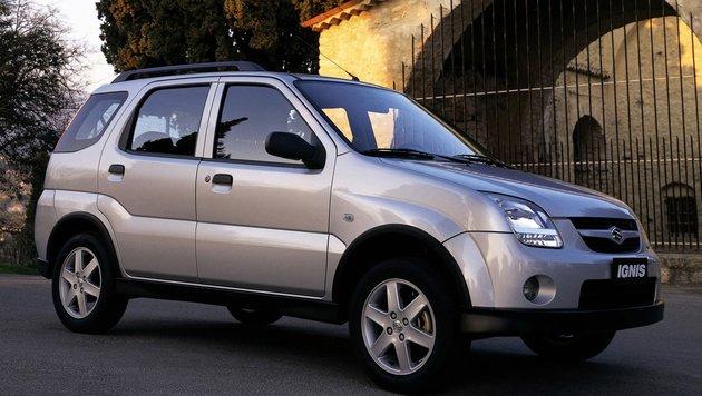 Suzuki Ignis, ab 2003 (Bild: Suzuki)