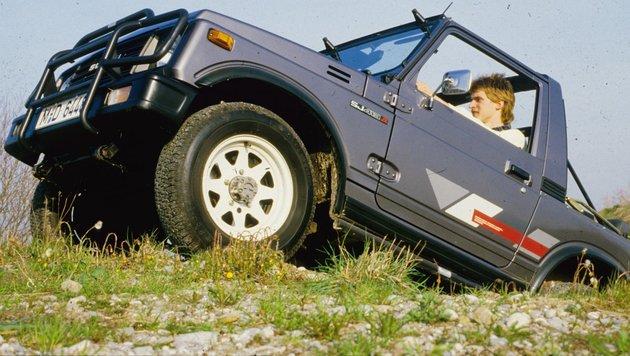 Suzuki SJ 413, ab 1985 (Bild: Suzuki)