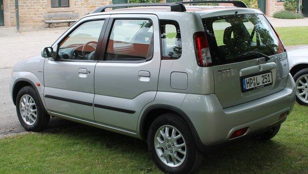 Suzuki Ignis, ab 2000 (Bild: autodrom)