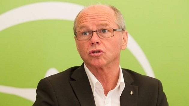 Für Finanz-Landesrat Christian Stöckl (VP) ist das Land Salzburg das Opfer. (Bild: Franz Neumayr/BP)