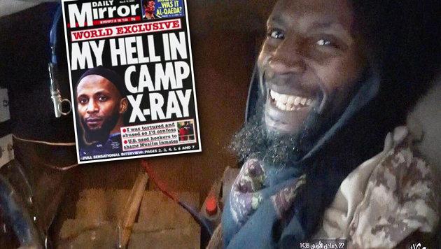 Haftentschädigung kassiert, jetzt Attentat verübt! (Bild: Daily Mirror, YouTube.com)