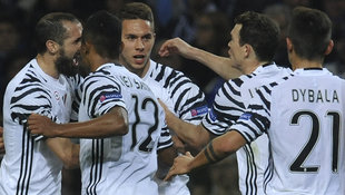 Juventus nach 2:0 in Porto mit einem Bein weiter! (Bild: Associated Press)