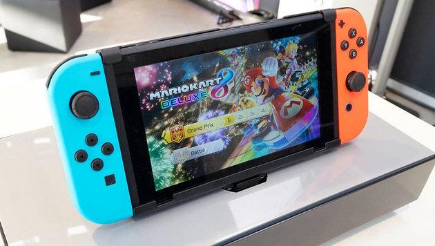 Spiele für Nintendo Switch schmecken widerlich (Bild: facebook.com/NintendoSwitchDE)