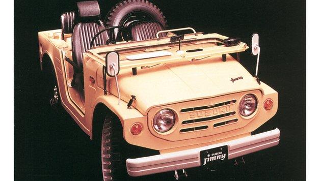 Suzuki Jimny LJ 10, ab 1970 (Bild: Suzuki)
