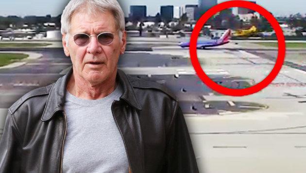Hier sieht man den Beinahe-Crash. (Bild: Viennareport, YouTube.com)