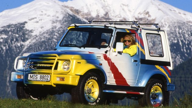 Suzuki SJ Samurai, ab 1988 (Bild: Suzuki)