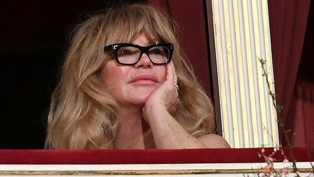 Goldie Hawn hatte bei der Eröffnung den Durchblick. (Bild: APA/HELMUT FOHRINGER)