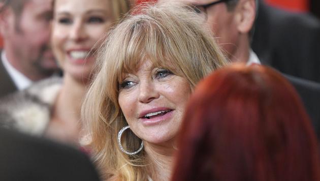 Goldie Hawn (Bild: APA/HERBERT NEUBAUER)
