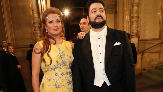 Operndiva Anna Netrebko und Yusif Eyvazov (Bild: Starpix/Alexander TUMA)