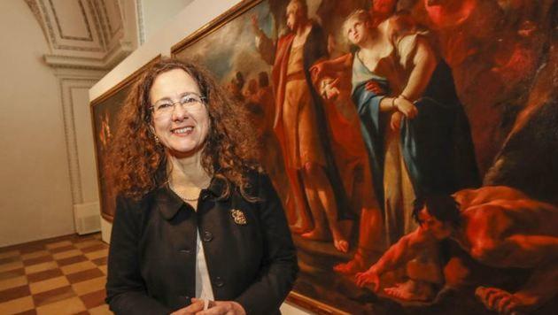 Leiterin der Sammlung Rossacher im Salzburg Museum Regina Kaltenbrunner (Bild: Markus Tschepp)