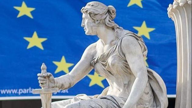 Bild zu EU-Wahl vor Wiener Parlament: Österreich ist Nettozahler (Bild: EXPA/ Michael Gruber)