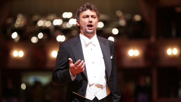 Jonas Kaufmann bei der Opernball-Eröffnung (Bild: APA/GEORG HOCHMUTH)