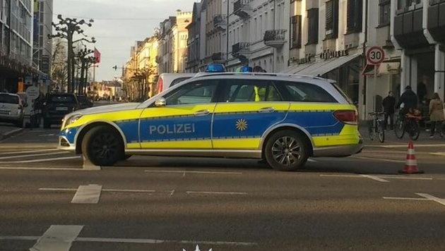 D: Ein Toter bei Amokfahrt, Täter angeschossen (Bild: Polizei Heidelberg)
