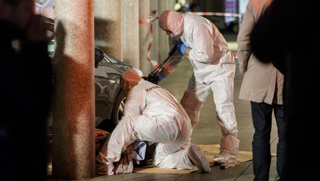 D: Ein Toter bei Amokfahrt, Täter angeschossen (Bild: AFP)