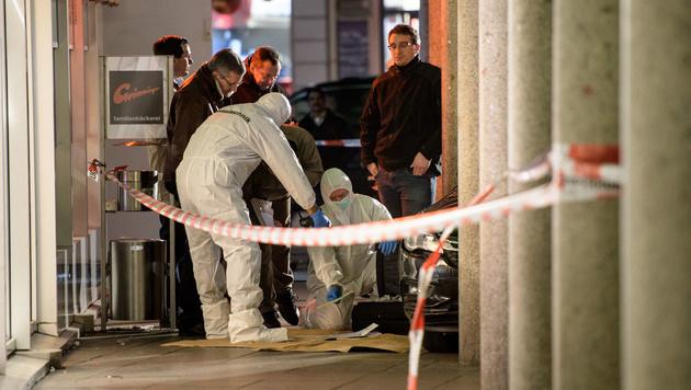D: Ein Toter bei Amokfahrt, Täter angeschossen (Bild: AFP or licensors)
