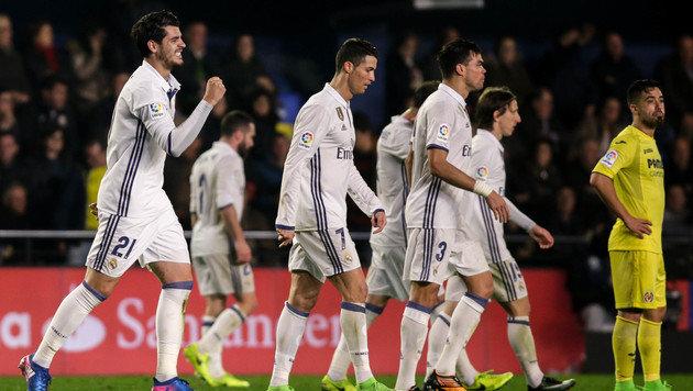 Furiose Aufholjagd bringt Real Madrid 3:2-Sieg (Bild: AFP)