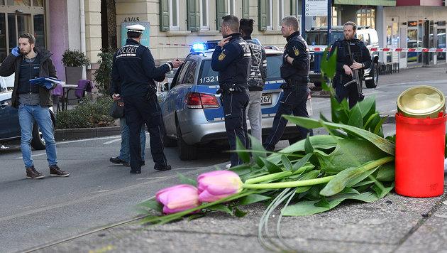 Heidelberg unter Schock: Weiter Suche nach Motiv (Bild: APA/PR-Video/R. Priebe, AFP)