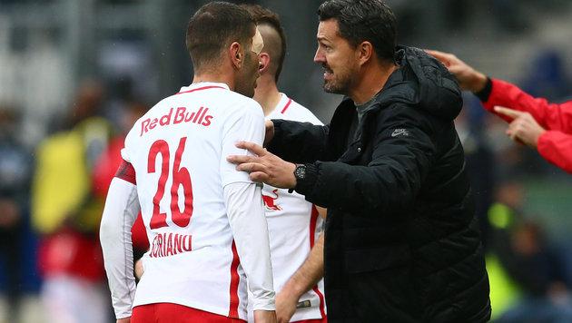 """Oscar Garcia: """"Werden Soriano sehr vermissen"""" (Bild: GEPA)"""
