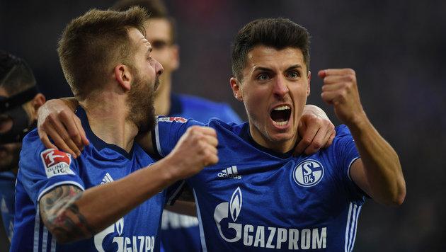 Schöpf-Tor reicht Schalke nicht zum Sieg (Bild: AFP)