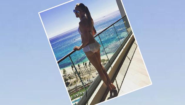 Was für ein Anblick! Tennis-Ass Daniela Hantuchova zeigt sich mega-sexy. (Bild: Instagram)