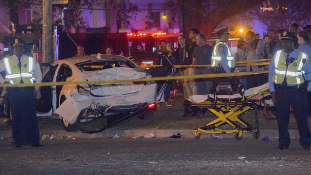 3 Amokfahrten in nur 18 Stunden - Toter, Verletzte (Bild: AP)