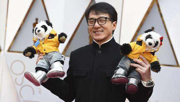 Jackie Chan (Bild: Jordan Strauss/Invision/AP)