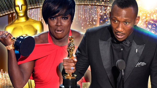 Viola Davis und Mahershala Ali (Bild: AFP, thinkstockphotos.de, Chris Pizzello/Invision/AP, AP)
