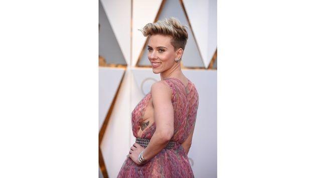 Scarlett Johansson zeigte Sideboob. (Bild: Viennareport)
