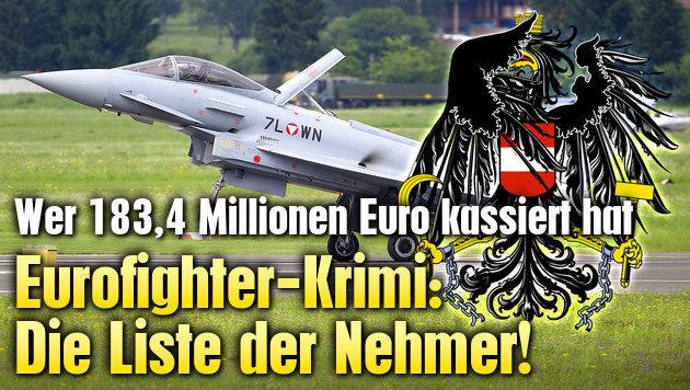 Eurofighter-Krimi: Die Liste der Nehmer!