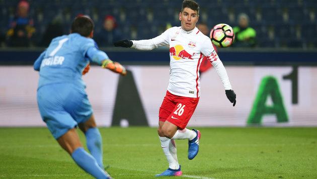 Fix: RB-Goalgetter Soriano wechselt nach China! (Bild: GEPA)