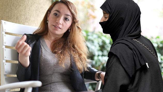 """Islamkritikerin warnt vor """"verschleierter Gefahr"""" (Bild: APA/ROLAND SCHLAGER, Gerhard Bartel)"""