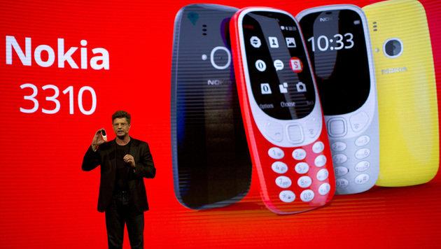 Nokia 3310: Kult-Handy feiert seine Auferstehung (Bild: AP)